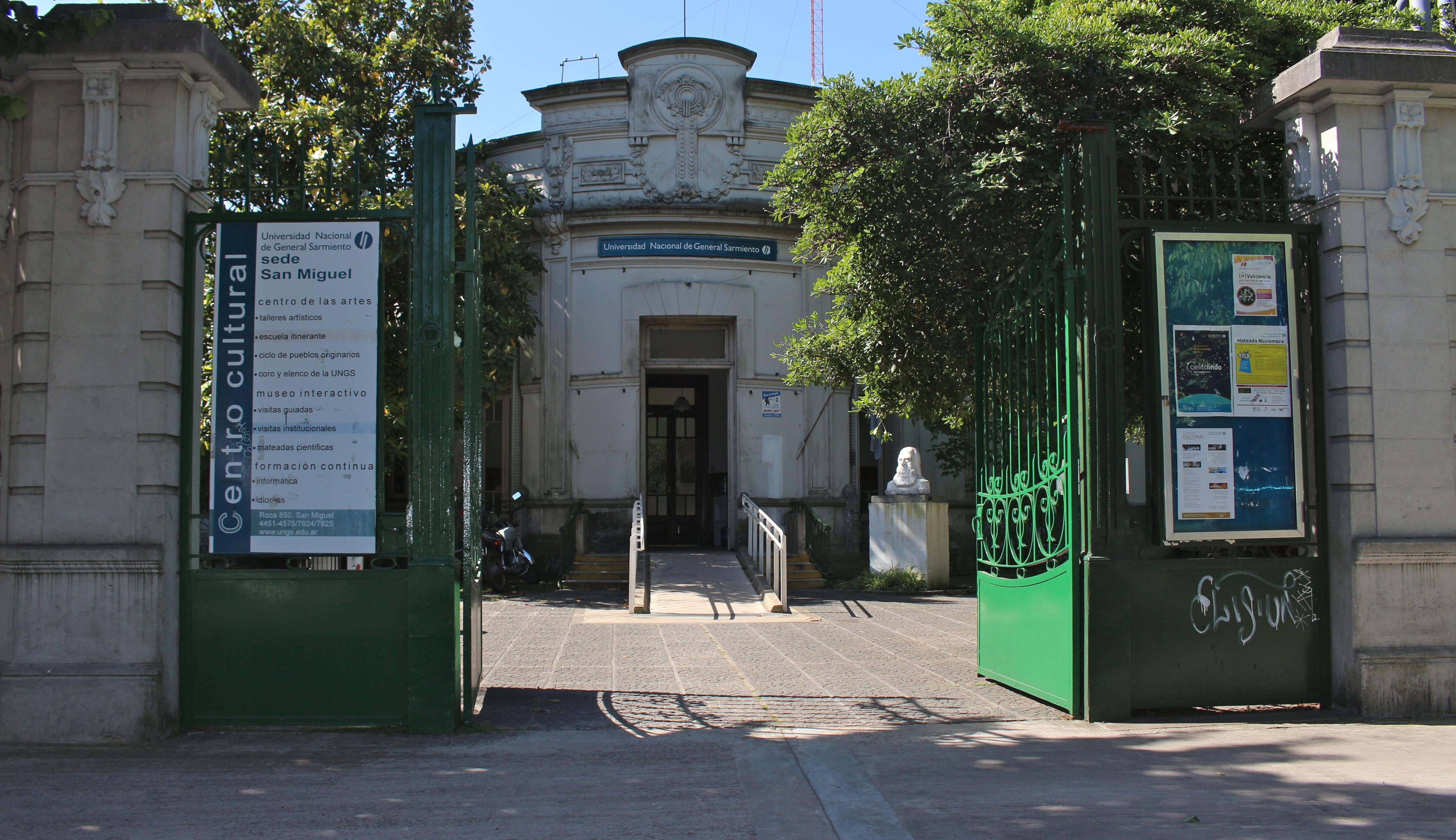 Inscripción a cursos y talleres del Centro Cultural UNGS