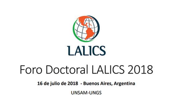 Foro Doctoral LALICS sobre innovación, cambio tecnológico y desarrollo económico