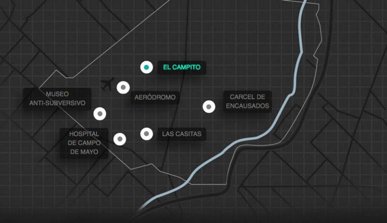 Mostrar lo que no se puede mostrar: un recorrido virtual, interactivo y 3D del ex centro clandestino El campito