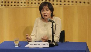 Andrea Catenazzi fue elegida como decana del ICO