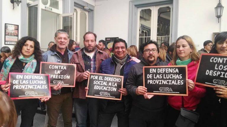 """Los docentes bonaerenses volvieron a rechazar """"la no oferta"""" de la gobernación"""