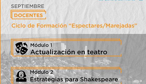 Ciclo de actualización en teatro