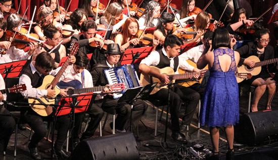 Encuentro de orquestas juveniles