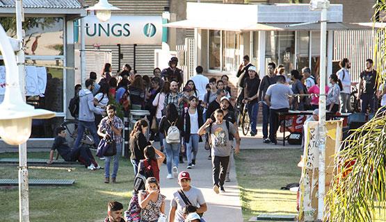 Nuevo período de matriculación e inscripción para comenzar a estudiar en la UNGS