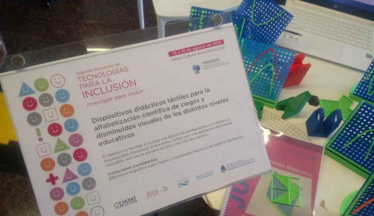 Investigadores del IDEI participaron del encuentro Tecnologías Inclusivas