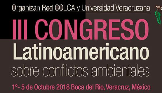 III Congreso Latinoamericano sobre Conflictos Ambientales