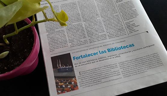 El Encuentro de Bibliotecas en Página 12 | Fortalecer las bibliotecas