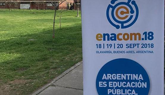 Reconocimiento a trabajos de la UNGS en EXPOCOM 2018