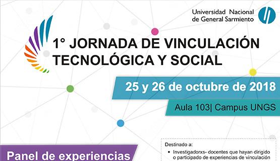 Memorias de la Jornada de Vinculación Tecnológica y Social