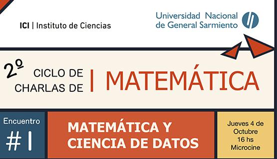 Comienza el segundo Ciclo de charlas de matemática