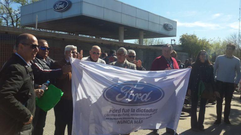 Causa Ford: se realizó una inspección ocular en la planta