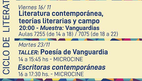 Ciclo de Encuentros sobre Literatura Contemporánea