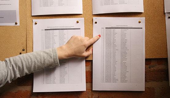 Elecciones de representantes estudiantiles para los comités de carrera