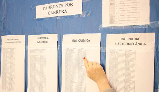 Elecciones de representares estudiantiles para los Comités de carrera | Publicación de padrones