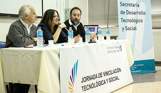 Se realizó la Primera Jornada de Vinculación Tecnológica y Social