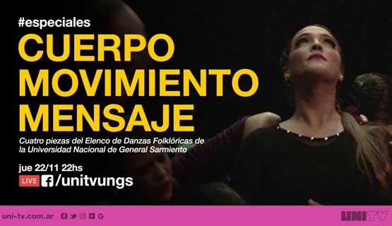 Especiales UNITV: Elenco de Danzas Folklóricas de la UNGS