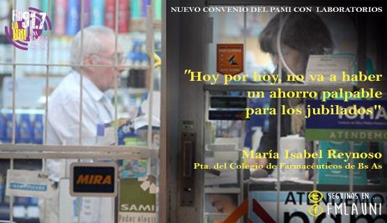 Convenio entre el PAMI y los laboratorios