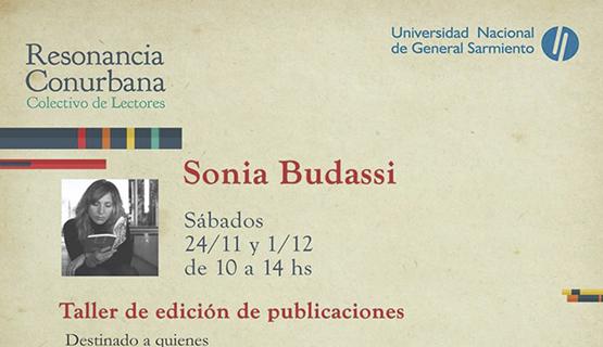 Taller de edición de publicaciones con Sonia Budassi