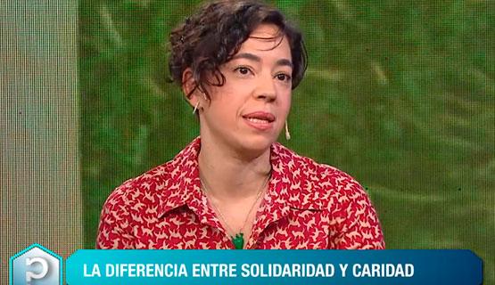 Carla del Cueto en la TV Pública