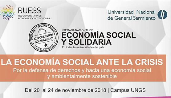 1º Semana Nacional de la Economía Social y Solidaria en la UNGS