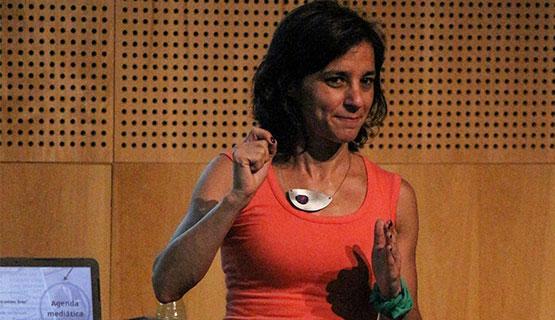 Natalia Aruguete realizó una presentación en la UNGS sobre agenda setting