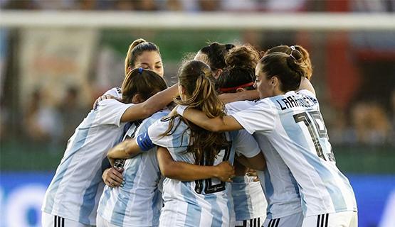 La Selección Argentina de fútbol femenino jugará el Mundial 2019