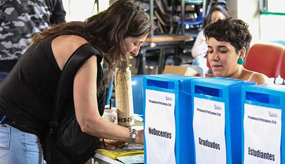 La comunidad universitaria votó los proyectos del Presupuesto Participativo UNGS 2018