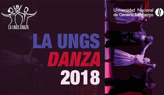 UNGS DANZA 2018: muestras, charlas, seminarios y presentaciones.