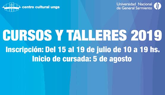 Inscripción para los cursos y talleres del Centro Cultural