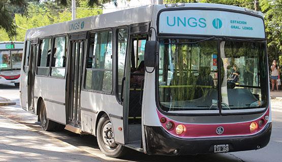 App SiMiUNGS: Conocé el estado del servicio de transporte de la UNGS