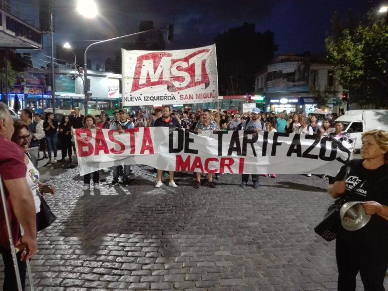 Otro ruidazo por tarifazos en San Miguel