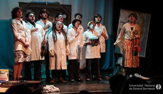 Sumate al Elenco de Teatro de jóvenes UNGS