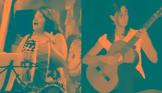 Concierto de Sonia Aban y Claudia Galván