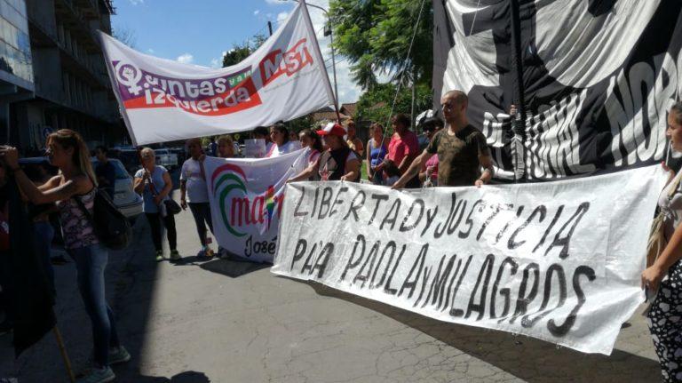 Exigen la liberación para Paola Córdoba y su hija