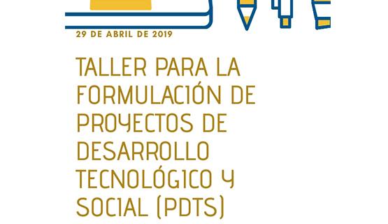 Taller de capacitación en proyectos de Desarrollo Tecnológico y Social