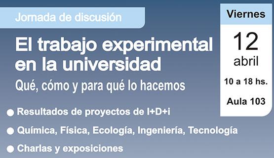 Jornada de discusión sobre el trabajo experimental en las universidades