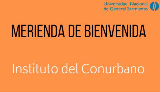 Merienda de bienvenida para estudiantes del ICO