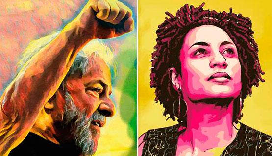 Lula libre, justicia por Marielle: Acto público con Dilma Rousseff