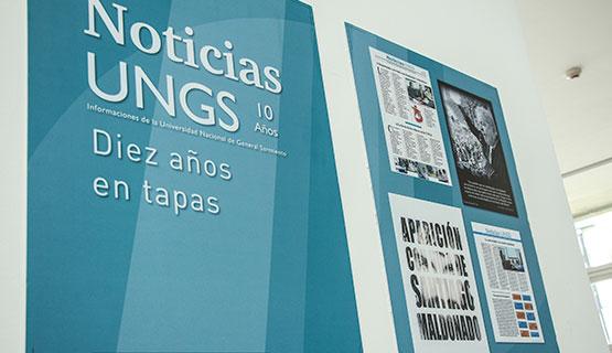 10 años de Noticias UNGS en tapas