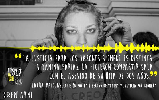 Pedido de libertad para Yanina Fariaz
