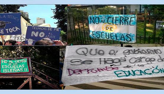 El ajuste en educación en los últimos años: sus consecuencias en el municipio de Moreno y en otros ámbitos de formación