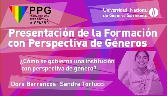 Formación con Perspectiva de Géneros en la UNGS: Dora Barrancos y Sandra Torlucci participarán en la presentación