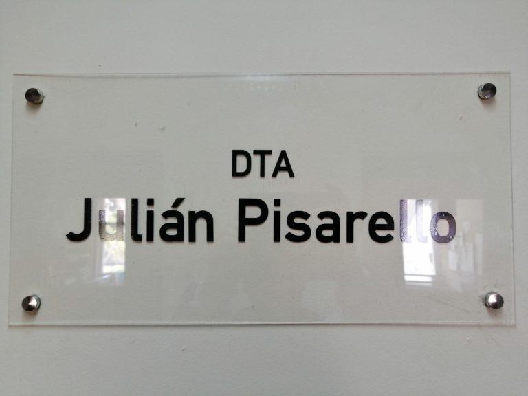 """Nombramiento de oficinas """"DTA Julian Pisarello"""""""