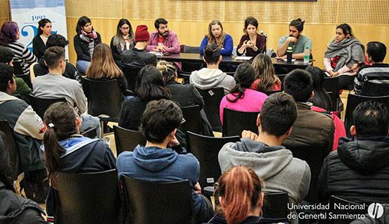 Ciclo de encuentros para estudiantes iniciales