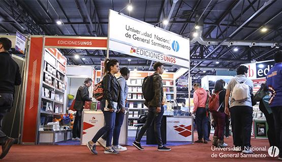 Importante participación de la UNGS en la Feria del Libro de Buenos Aires