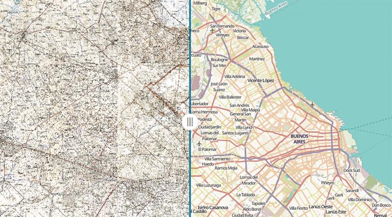 Marina Miraglia en Agencia TSS   Mapa de la historia