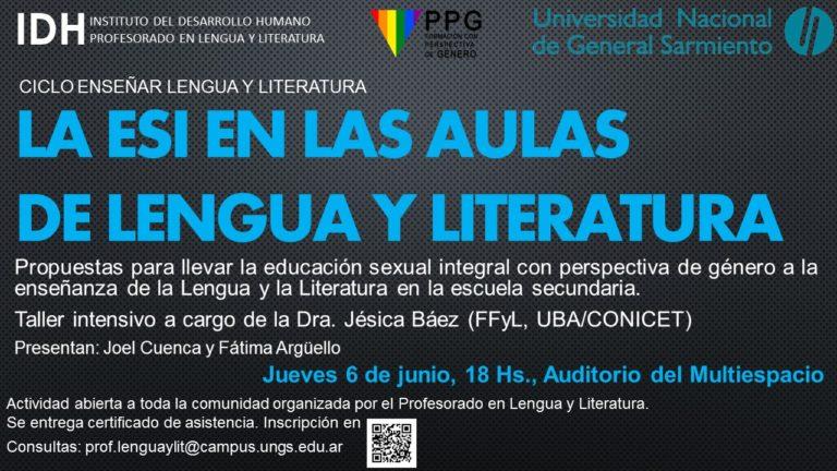 Propuestas de Educación Sexual Integral (ESI) en las aulas de lengua y literatura