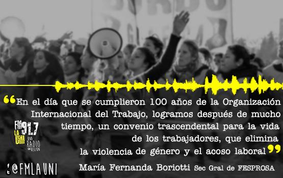 Histórica aprobación del convenio de la OIT sobre violencia y acoso laboral