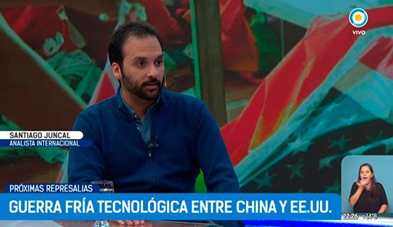 Guerra tecnológica entre China y EE.UU. | Santiago Juncal en TPA Noticias Internacional