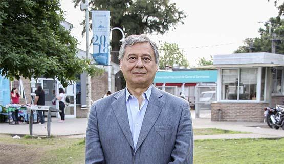 Homenaje al ex rector de la UNGS Silvio Feldman